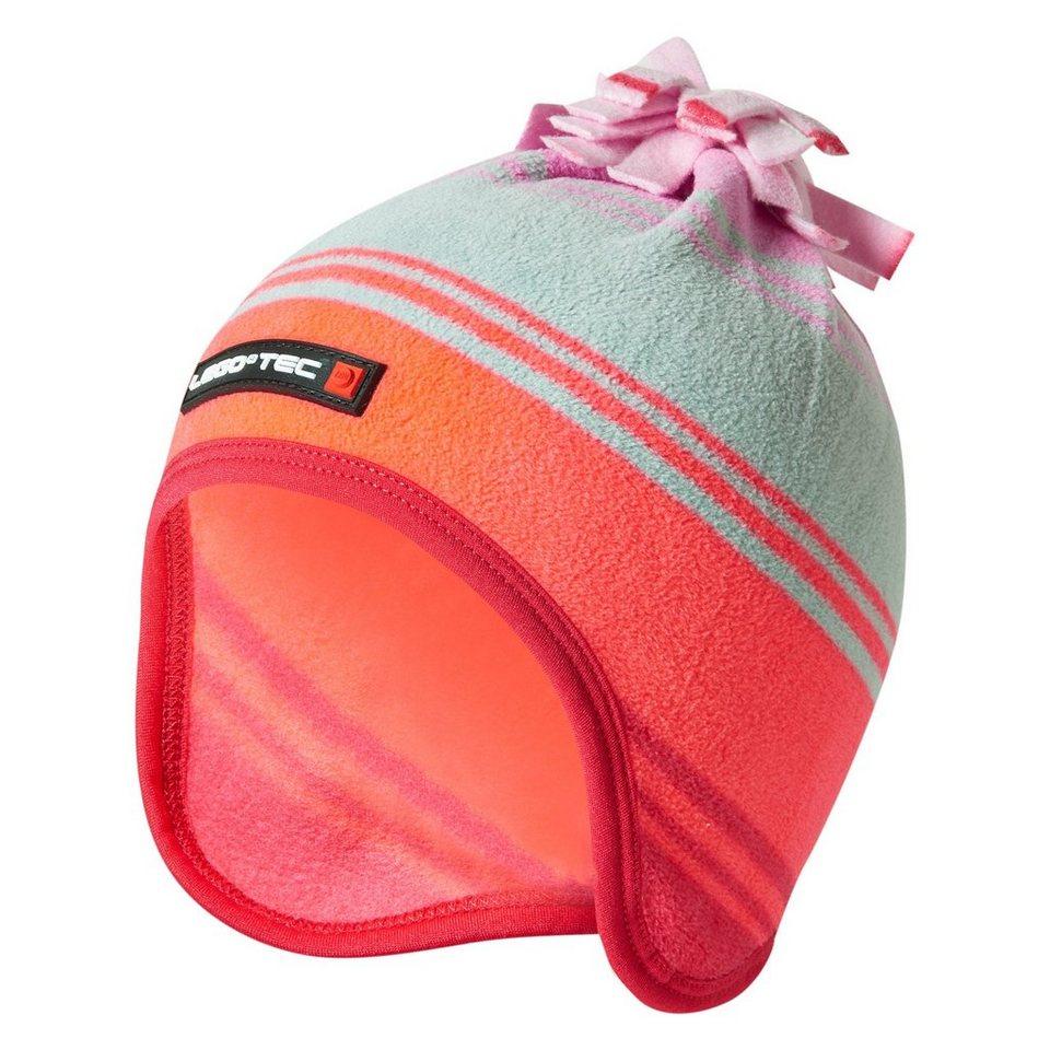 """LEGO Wear Winterfleecemütze mit Bommel Kappe Skimütze LEGO® TEC AMIR Hut """" in pink"""