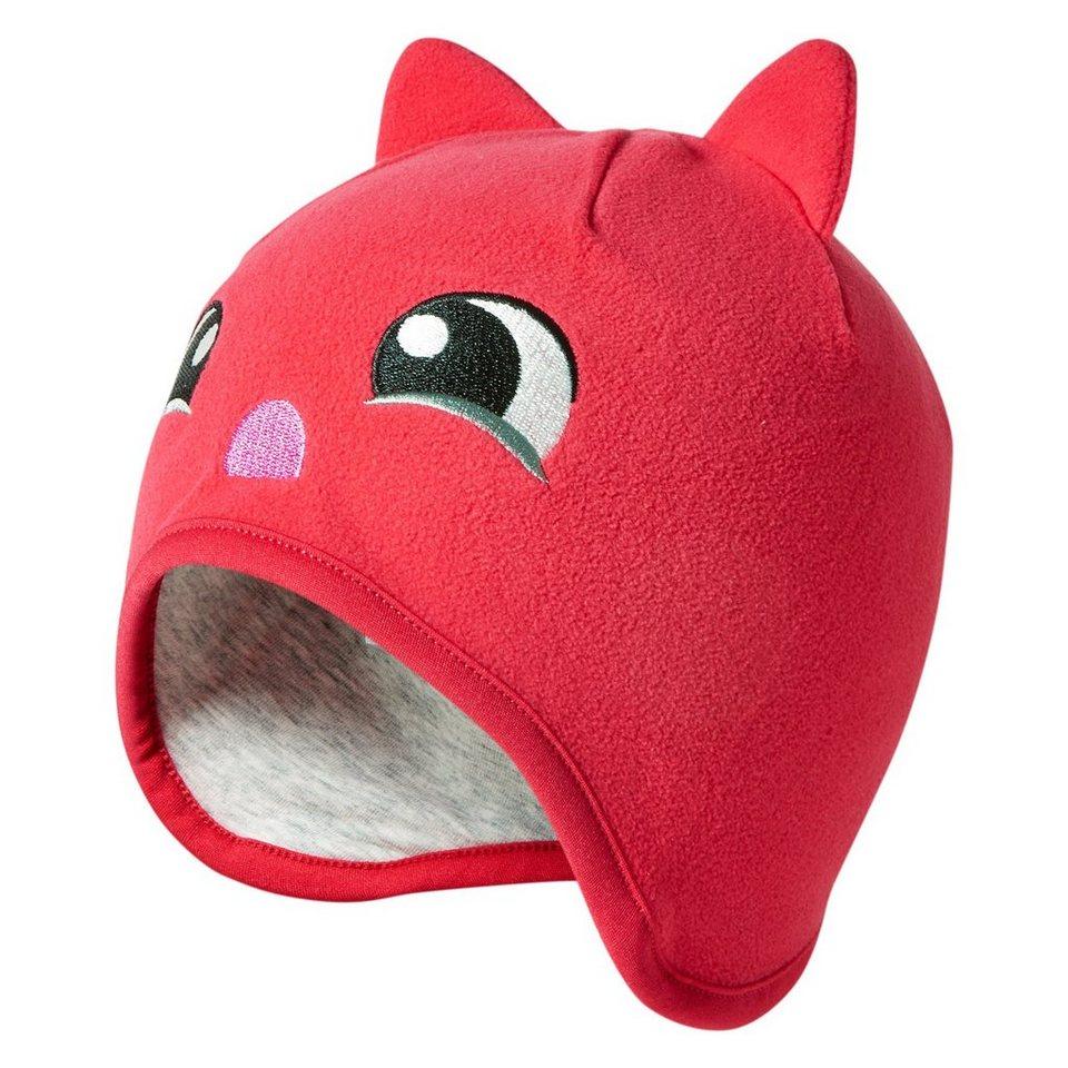 """LEGO Wear Winterfleecemütze Kappe Skimütze LEGO® TEC ANNE Hut """"FACE"""" HAT in rot"""