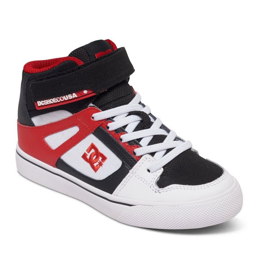 DC Shoes Hi-top »Spartan EV« in White/black/red