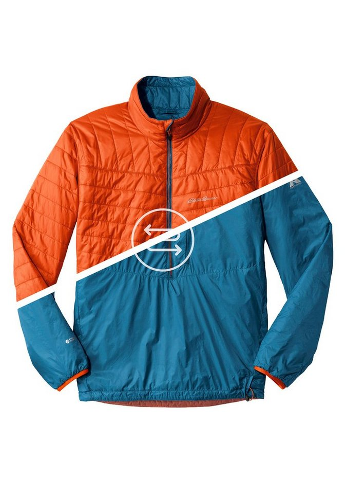 Eddie Bauer Wende-Blouson in Orange/Blau