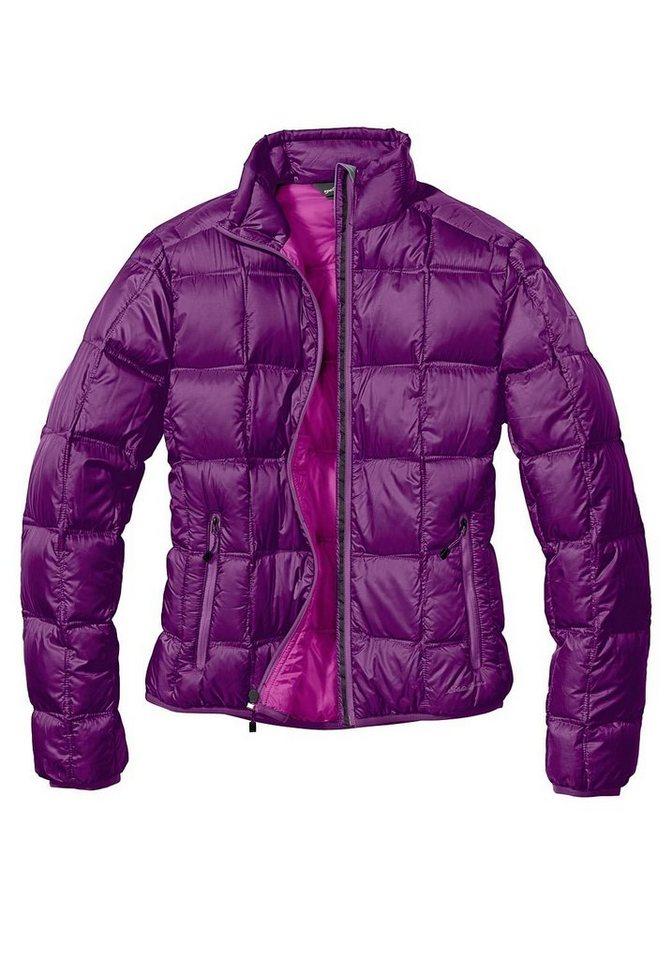 Eddie Bauer First Ascent® Daunenjacke in Violett