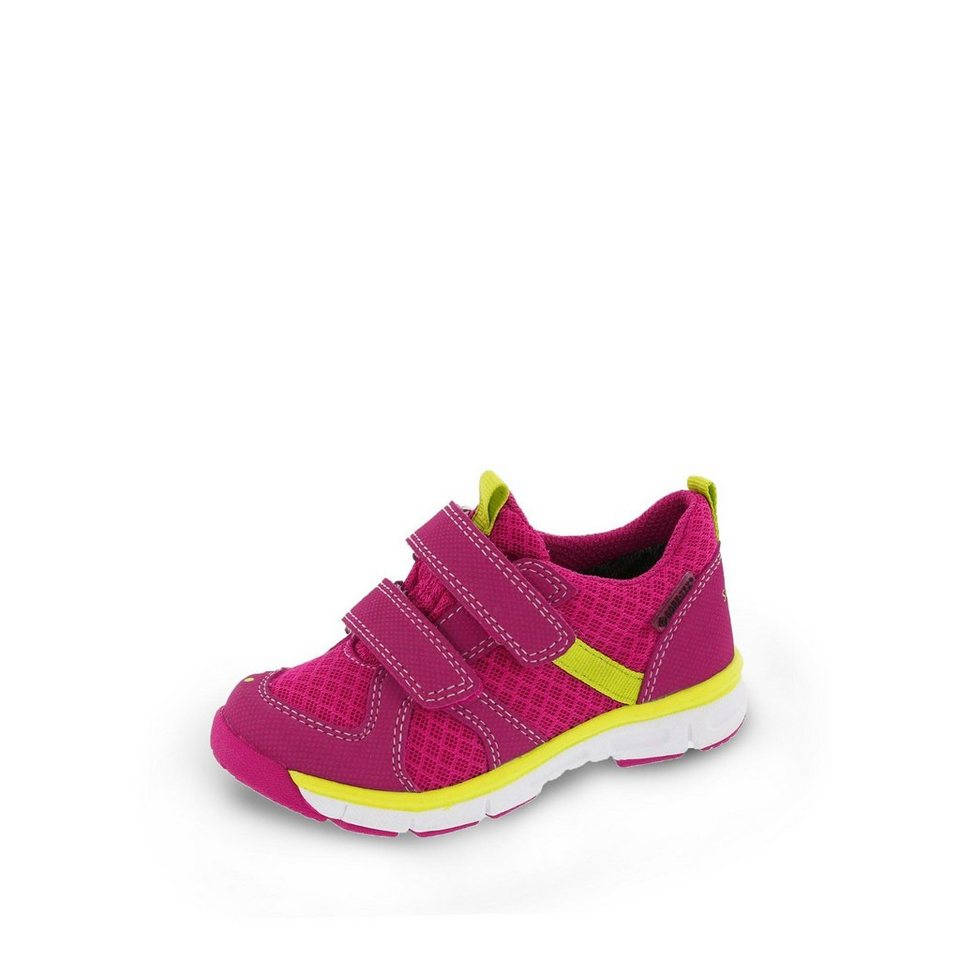 Superfit GORE-TEX® Lauflernschuh in pink/neongelb