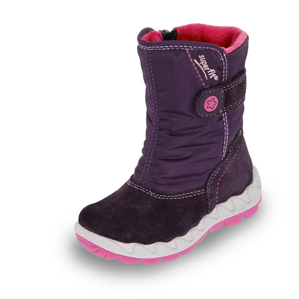 Superfit GORE-TEX® Winterstiefel in lila/pink