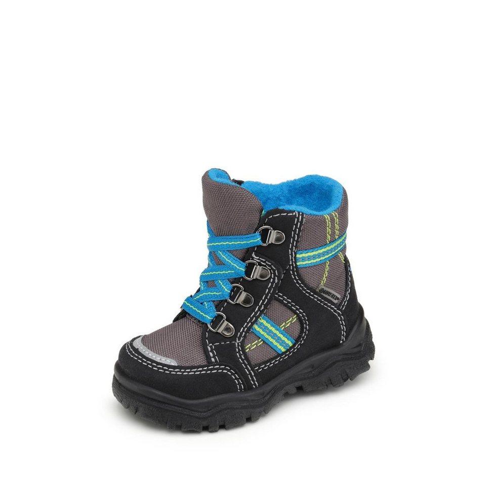 Superfit GORE-TEX® Lauflernstiefel in schwarz/grau/blau
