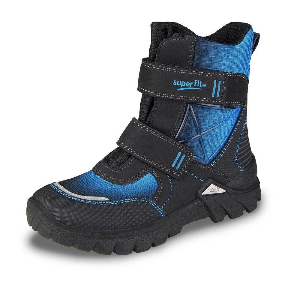 Superfit GORE-TEX® Winterstiefel in schwarz/blau