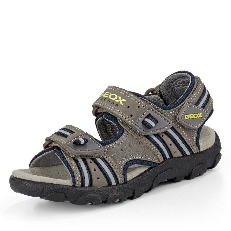 Geox Sandale in grau/blau