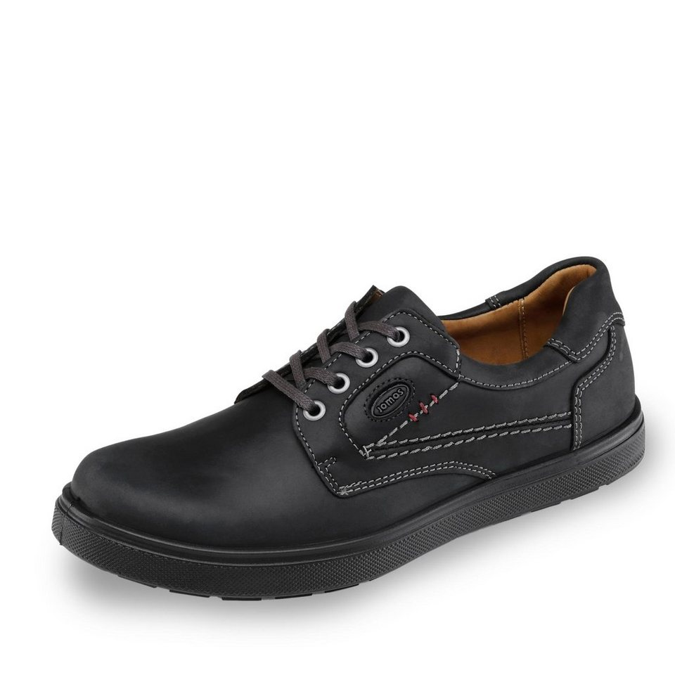 Jomos Air Comfort Jomos Schnürschuh in schwarz