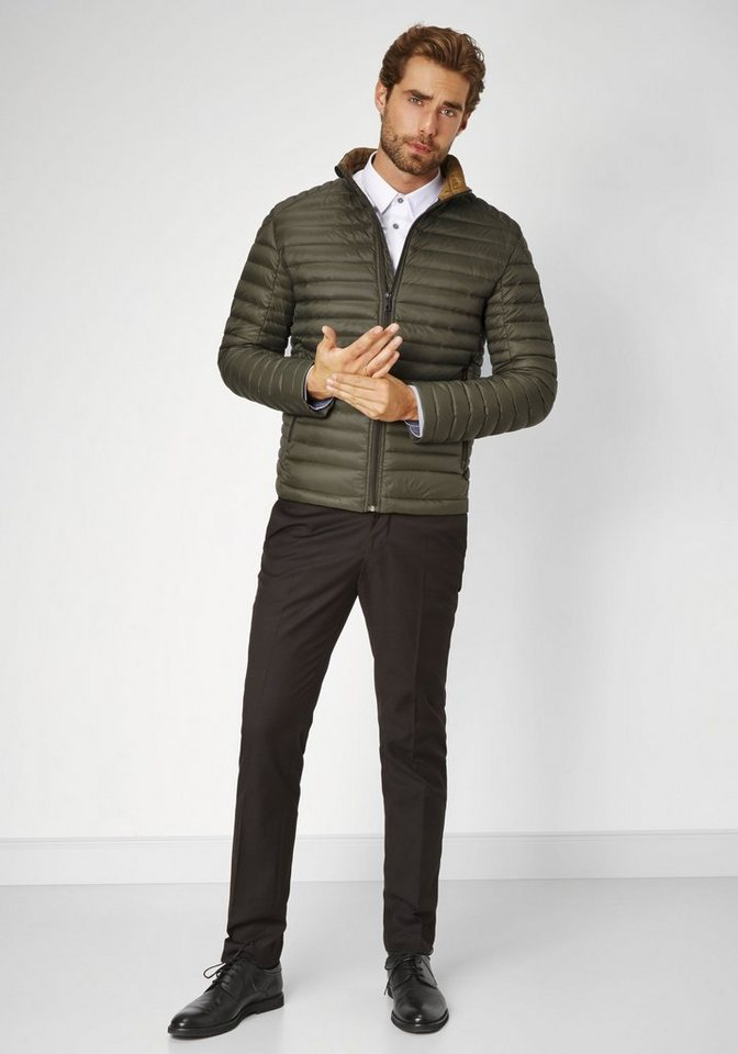 S4 Jackets Down Touch Jacke »ICE-T 2« in forrest green