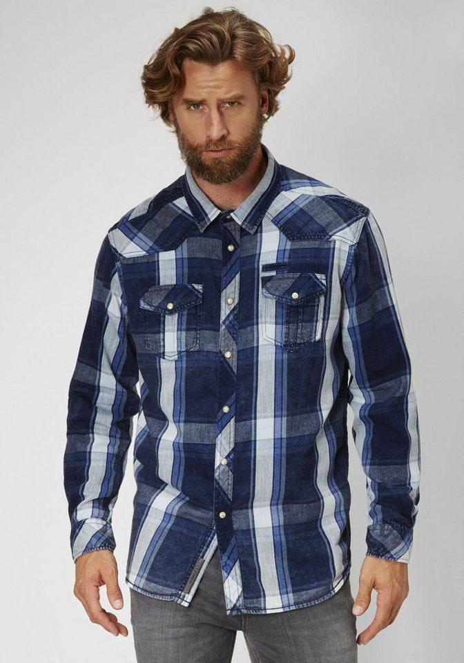 PADDOCK'S Hemd in blue