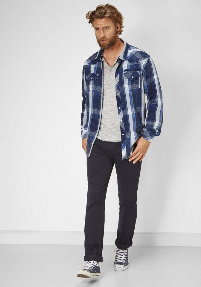 PADDOCK'S Stretch Jeans »RANGER« in dark navy