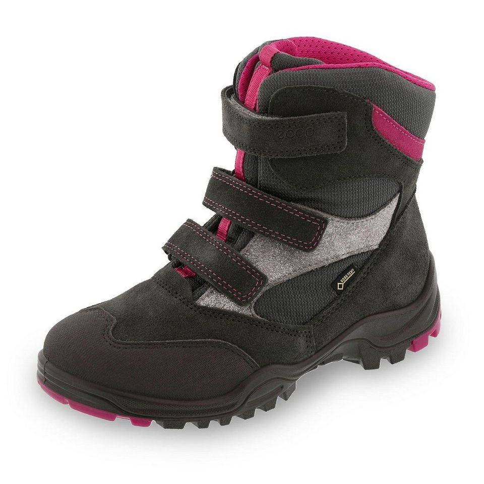 Ecco ecco GORE-TEX® Winterstiefel in anthrazit/pink
