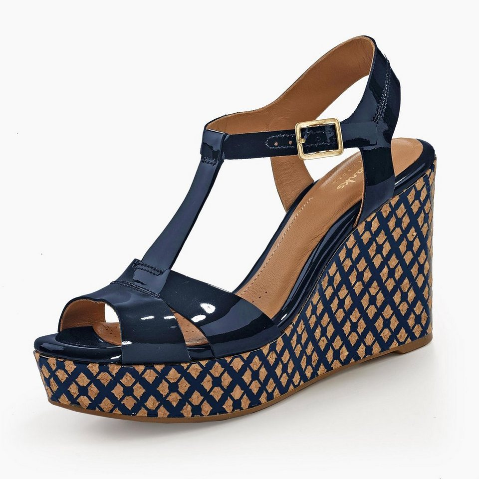 Clarks Amelia Roma Sandalette in blau