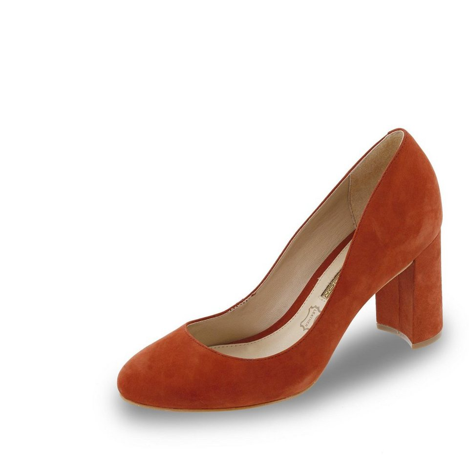 Buffalo Pumps in orange
