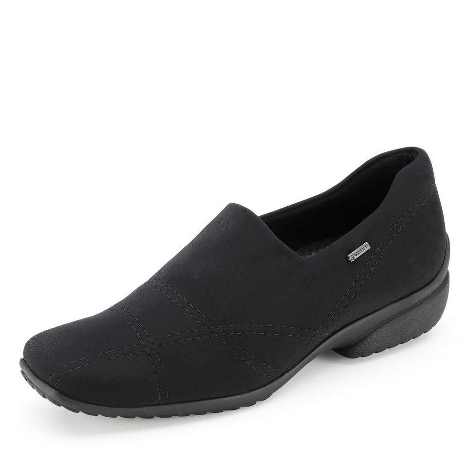Ara Portofino GORE-TEX® Slipper in schwarz