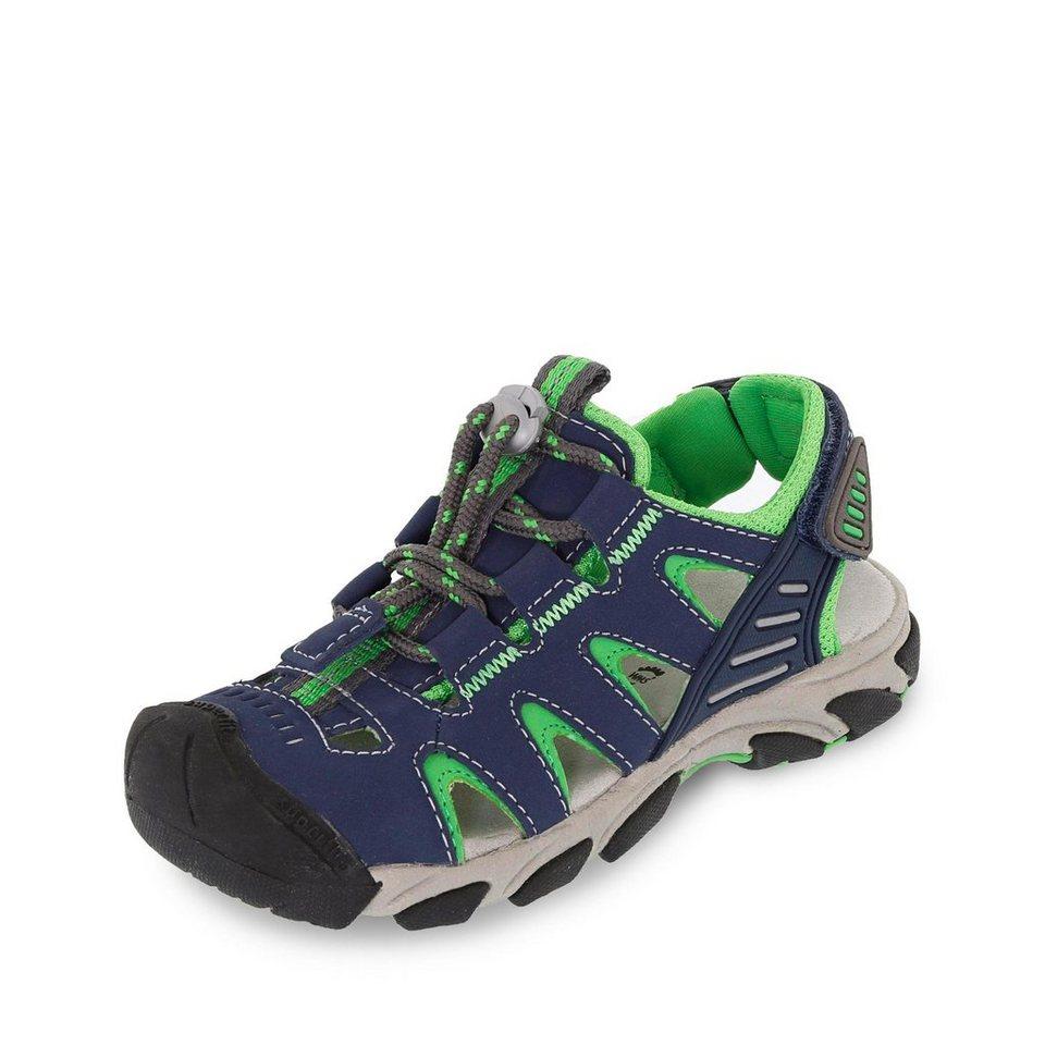 Superfit Sandale in marine/apfelgrün