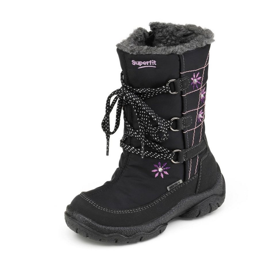 Superfit GORE-TEX® Winterstiefel in schwarz/lila