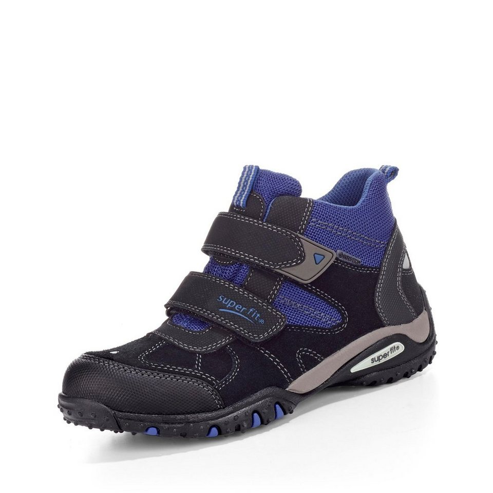 Superfit GORE-TEX® Bootie in schwarz/royalblau