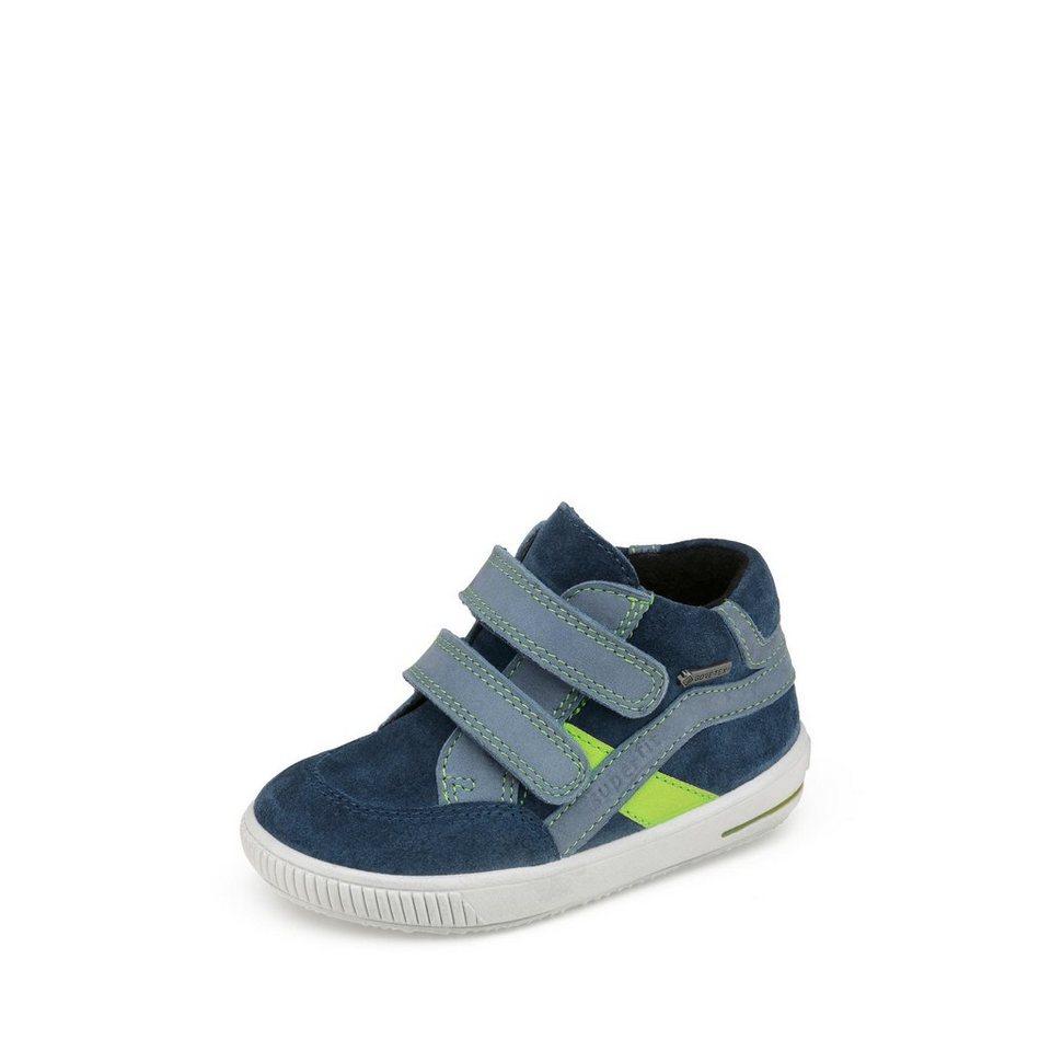 Superfit GORE-TEX® Lauflernschuh in blau/neongrün
