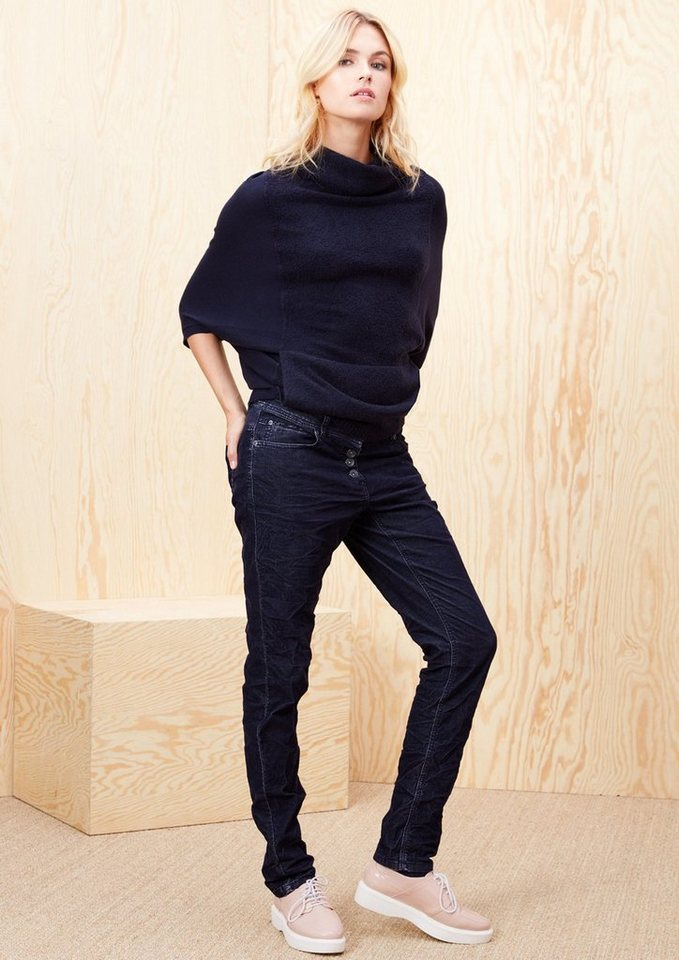 s.Oliver RED LABEL Smart Chino: Stretch-Cordhose in navy