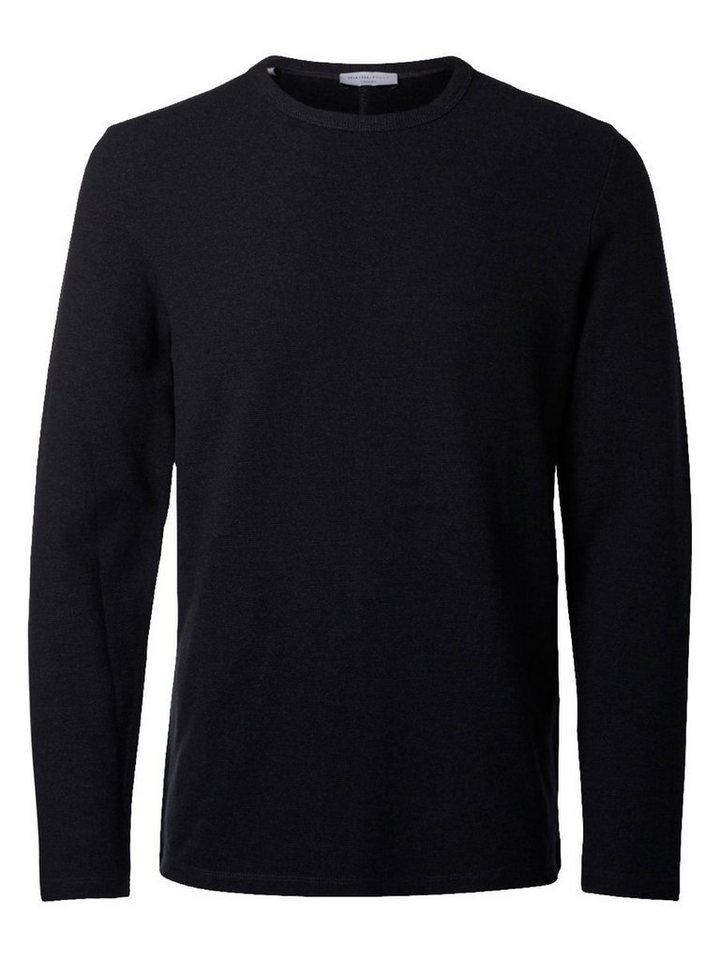 Selected Klassisches T-Shirt in Antracit