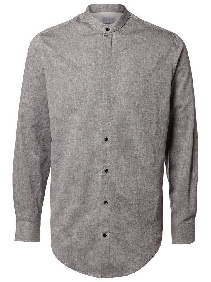 Selected Klassisches Hemd in Steel Gray