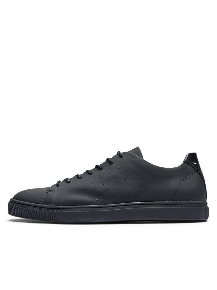 Selected Klassischer Sneaker in Black