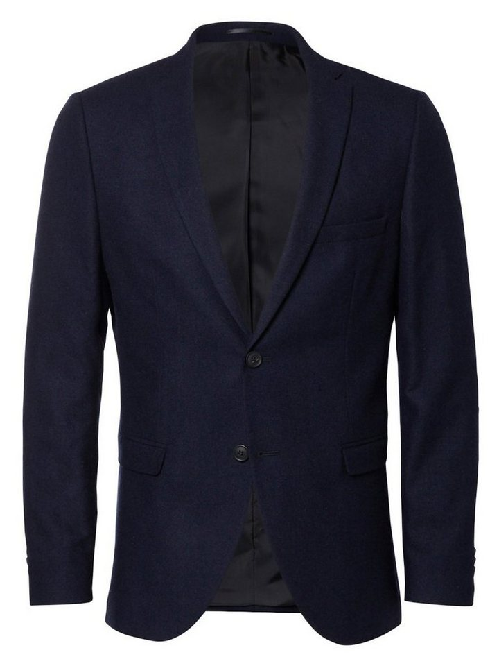 Selected Slim-Fit- Blazer in Dark Navy