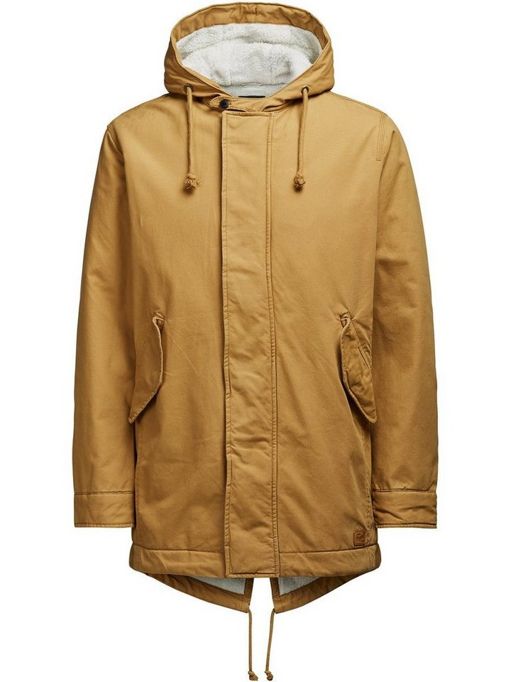 Jack & Jones Warmer Parka in Bone Brown