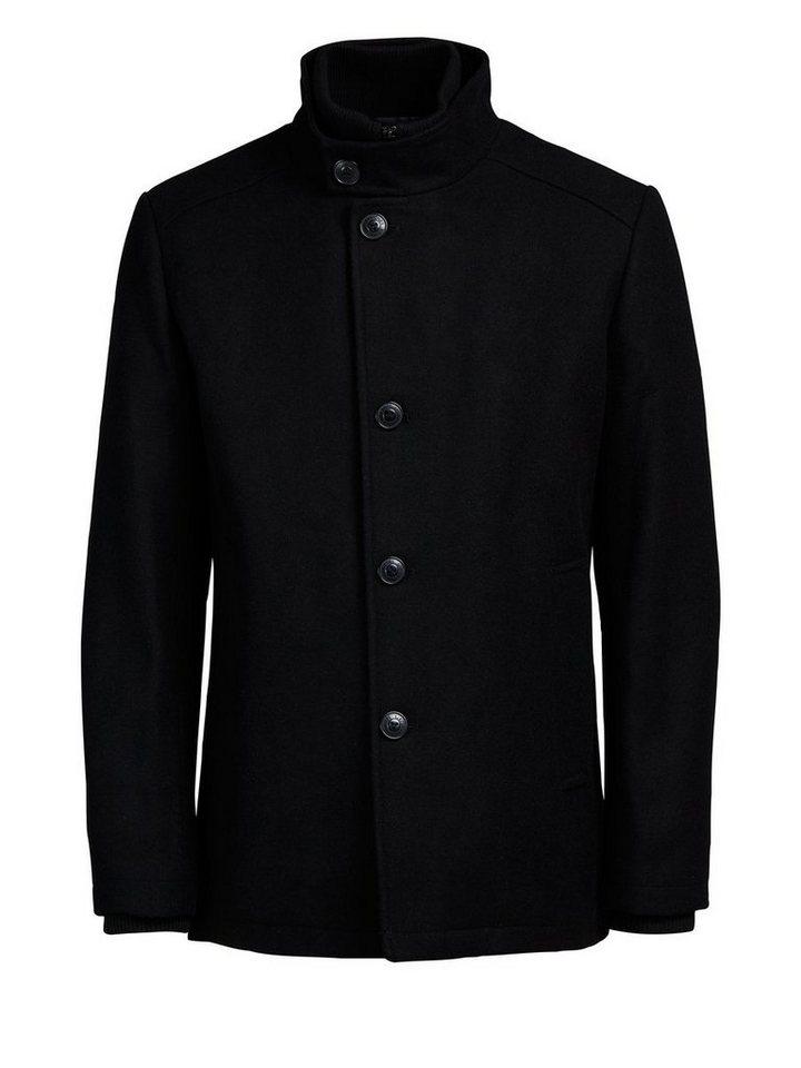 Jack & Jones Markante Woll- Jacke in Black