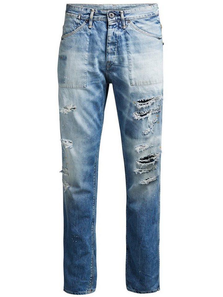Jack & Jones Erik Bl 660 Anti Fit Jeans in Blue Denim