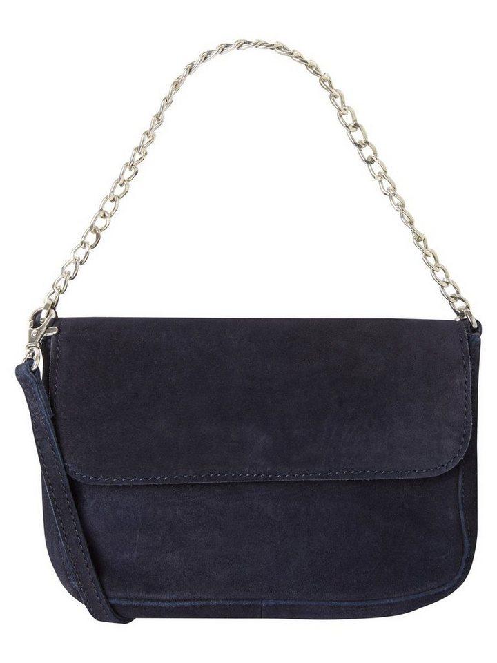 Vero Moda Wildleder Umhänge- Tasche in Navy Blazer