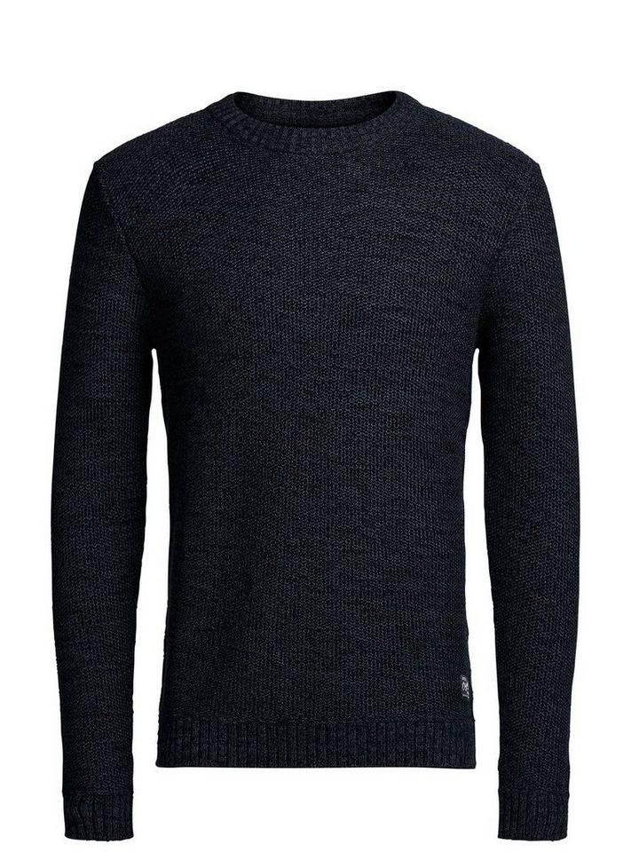 Jack & Jones Struktur- Pullover in Black