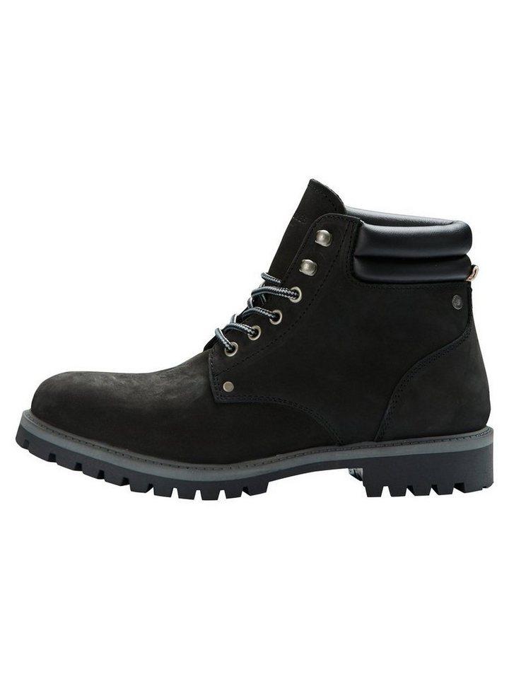 Jack & Jones Workwear- Stiefel in Black