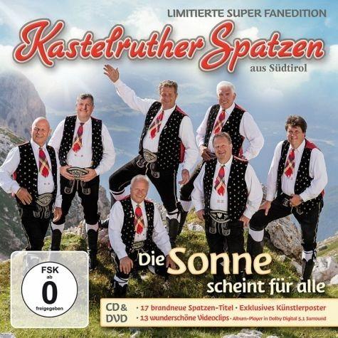 CD+DVD »Kastelruther Spatzen: Die Sonne Scheint Für...«
