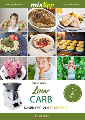 Broschiertes Buch »mixtipp: LowCarb«