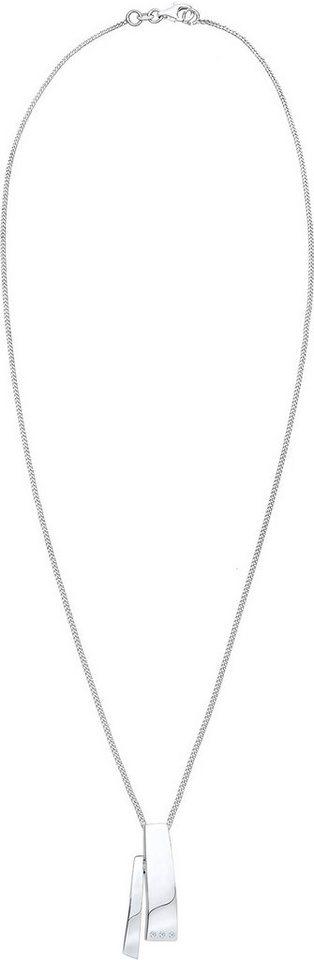 Diamore Kette mit Anhänger »DIAMORE, 0109582413« mit Brillianten in Silber 925-silberfarben