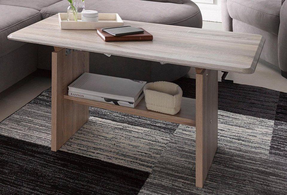 couchtisch h henverstellbar wahlweise mit auszugsfunktion online kaufen otto. Black Bedroom Furniture Sets. Home Design Ideas