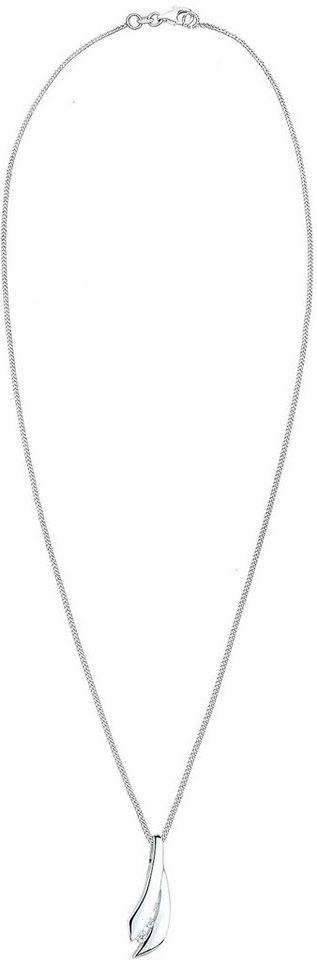 Diamore Kette mit Anhänger »DIAMORE, 0109352513« mit Brillianten in Silber 925-silberfarben
