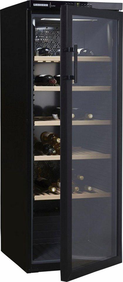 Liebherr Weinkühlschrank Vinothek WTb4212-20, A, für 200 Bordeauxflaschen á 0,75l in schwarz