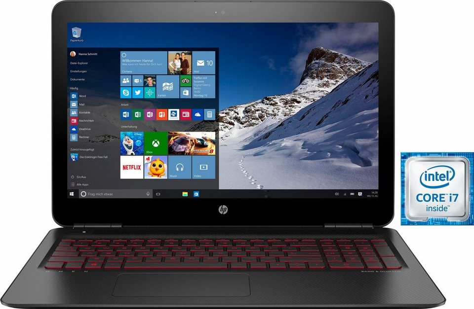 HP 17-w109ng Notebook, Intel® Core™ i7, 43,9 cm (17,3 Zoll), 1128 GB Speicher, 16384 MB DDR4-SDRAM in schwarz