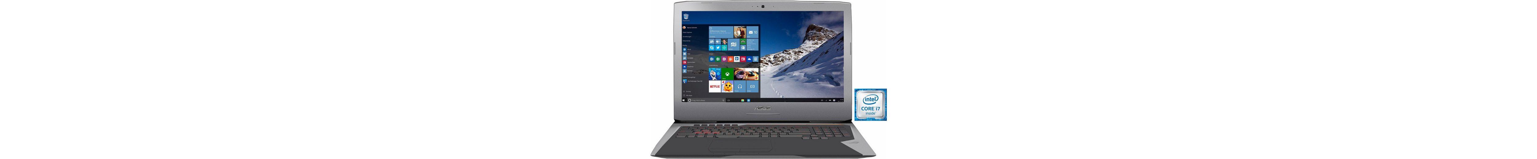Asus G752VS-BA184T Notebook, Intel® Core™ i7, 43,9 cm (17,3 Zoll), 16384 MB DDR4-RAM