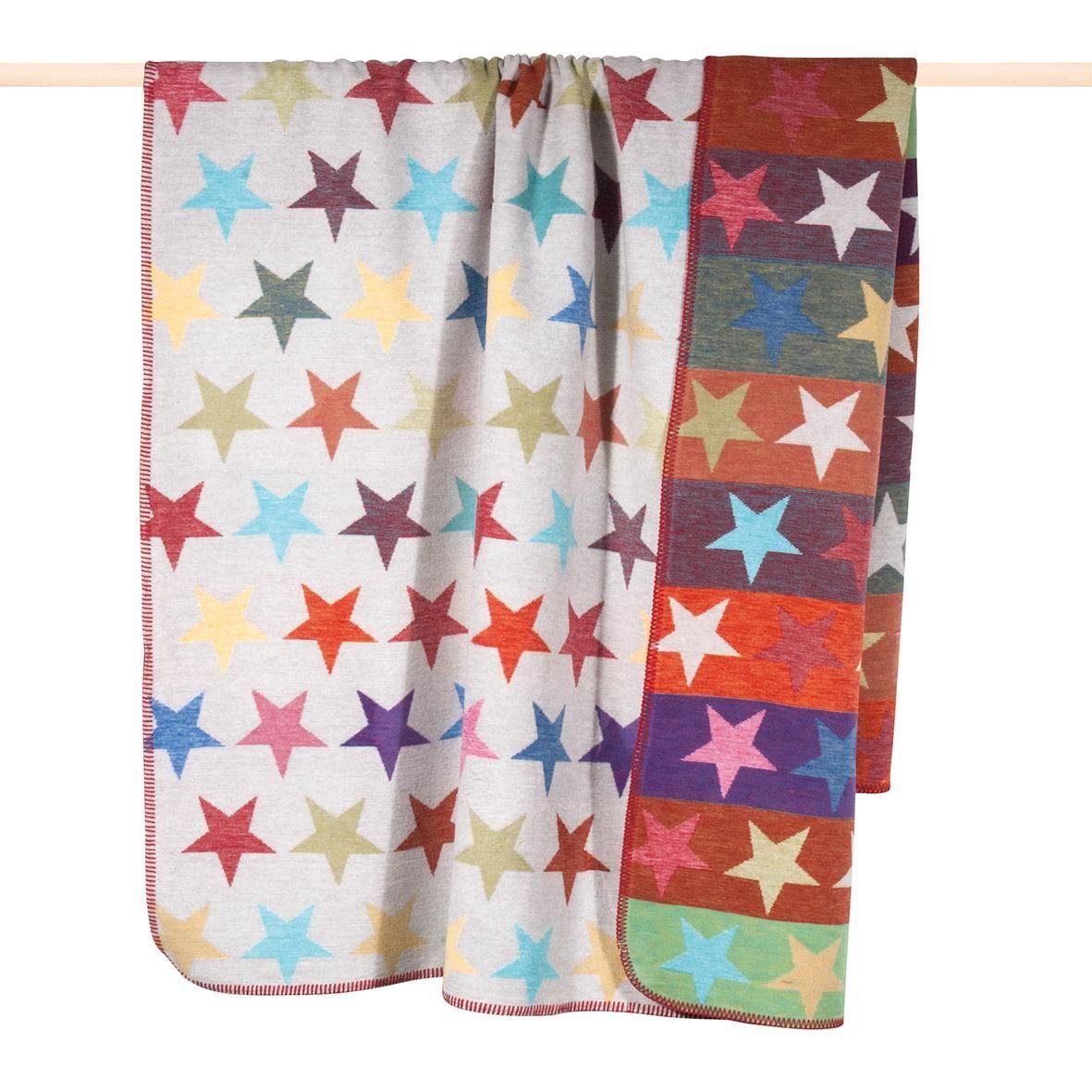 Wohndecke, pad, »Stars Mix«, mit Sternen