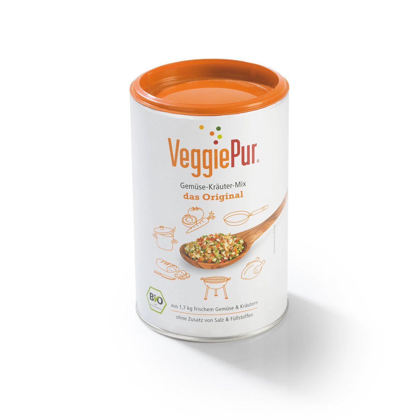 VeggiePur Bio Gemüse-Kräuter-Mix Original 130 g