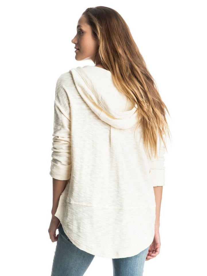Roxy Longsleeve mit Kapuze »Good Vibrations« in Angora