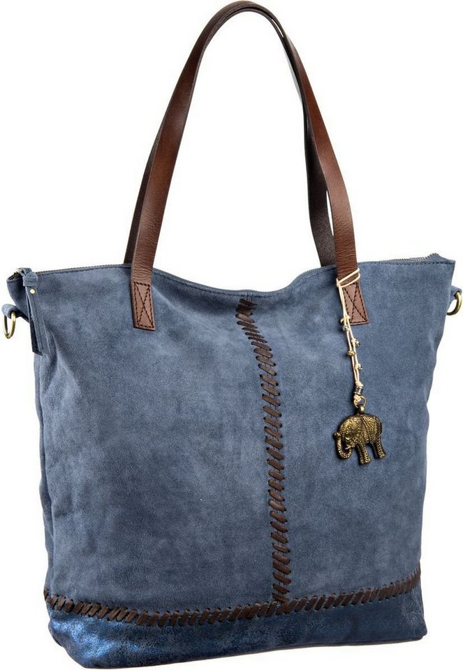 Anokhi Sammy Shopper in Navy