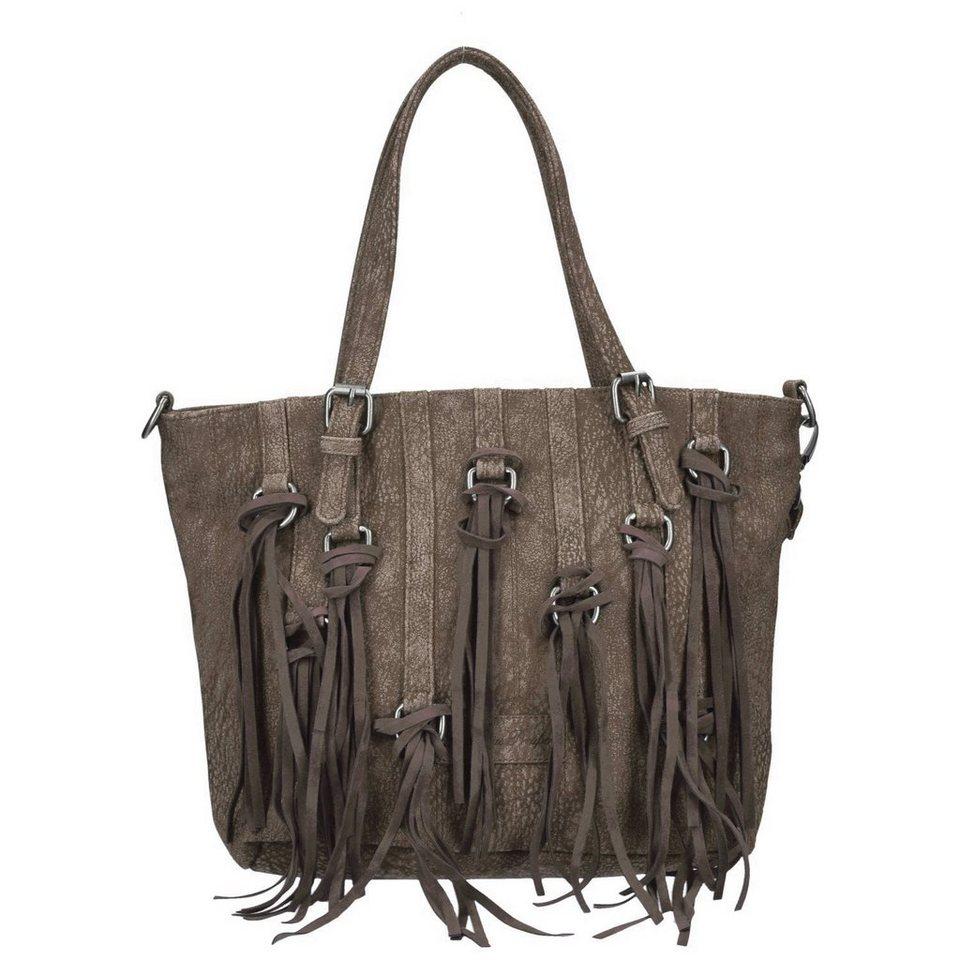 Fritzi aus Preußen Crissy Kuba Shopper Tasche 40 cm in batik