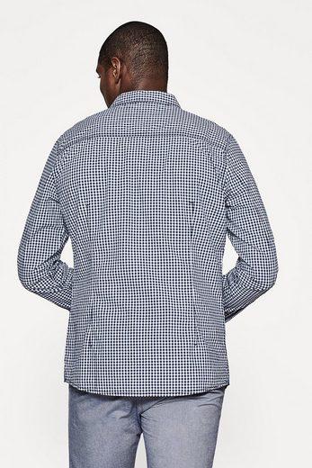 EDC BY ESPRIT Karriertes Hemd aus Baumwolle