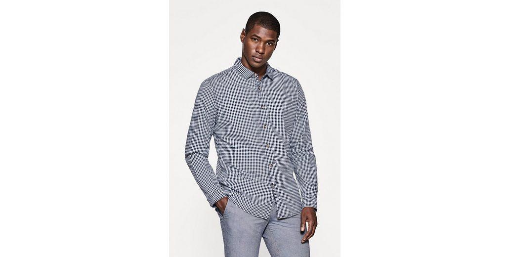 EDC BY ESPRIT Karriertes Hemd aus Baumwolle Outlet Neuesten Kollektionen r1GAUYEo