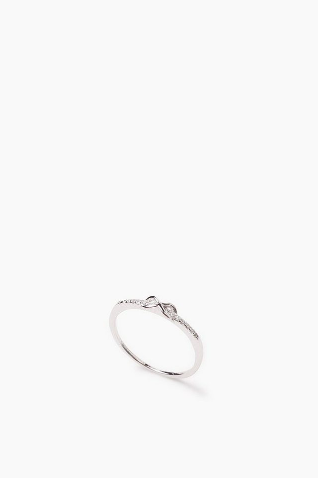 ESPRIT CASUAL Eternity Ring, Sterling Silber / Zirkonia in one colour