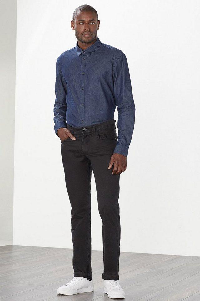 ESPRIT COLLECTION 5-Pocket aus weichem Baumwoll-Stretch in BLACK